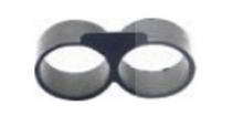 بست عینکی (انتهایی) 16 آبیاری قطره ای